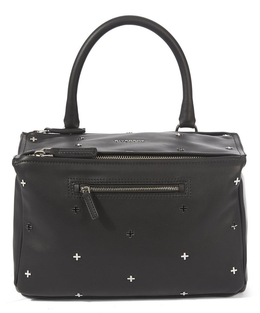 Medium Pandora Metal Cross Shoulder Bag