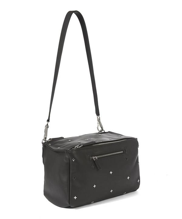 Medium Pandora Metal Cross Shoulder Bag