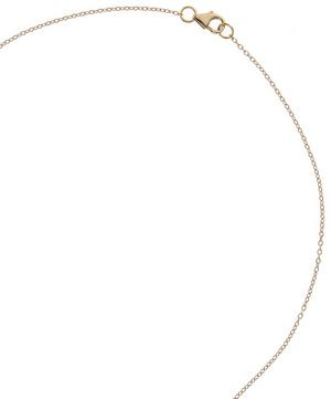 Rainbow Necklace with White Diamond