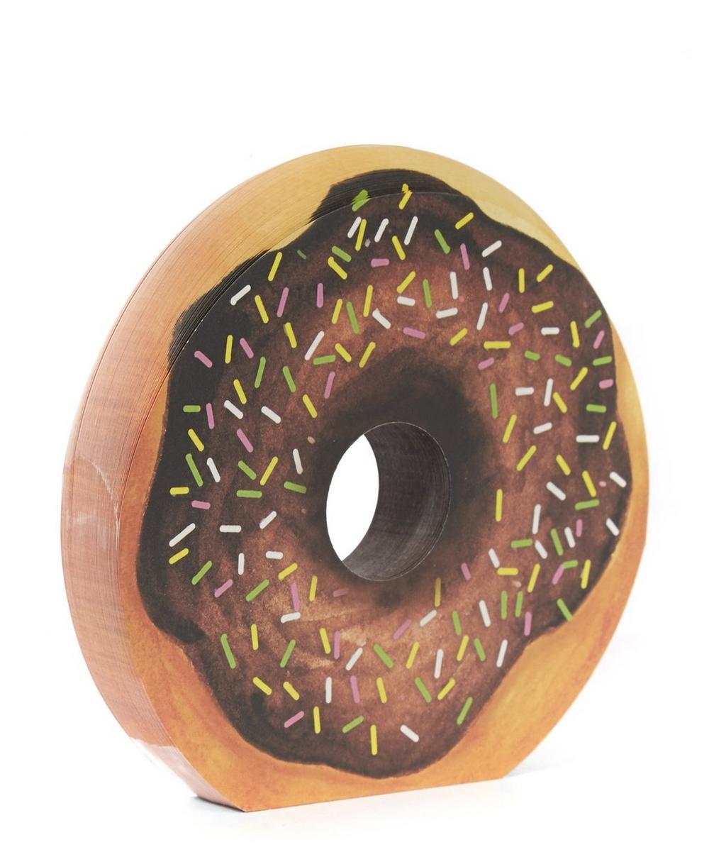 Chocolate Dougnut Memo Pad