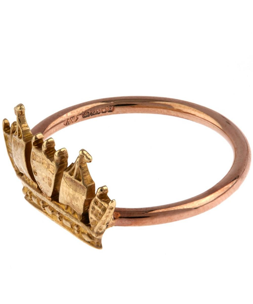 Rose Gold Crown Ring