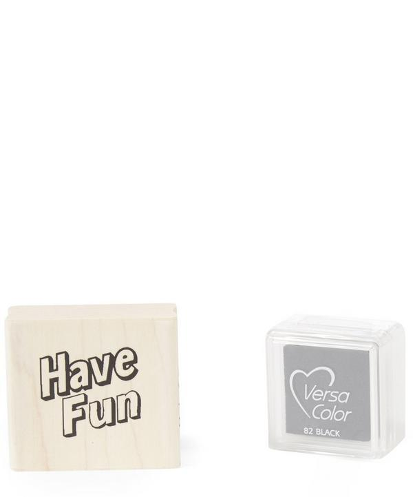 Have Fun Stamp and Pad