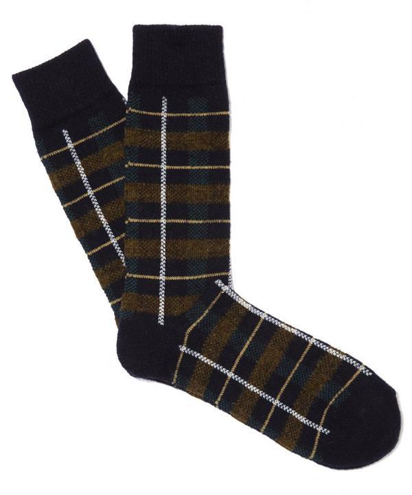 Tartan Check Socks