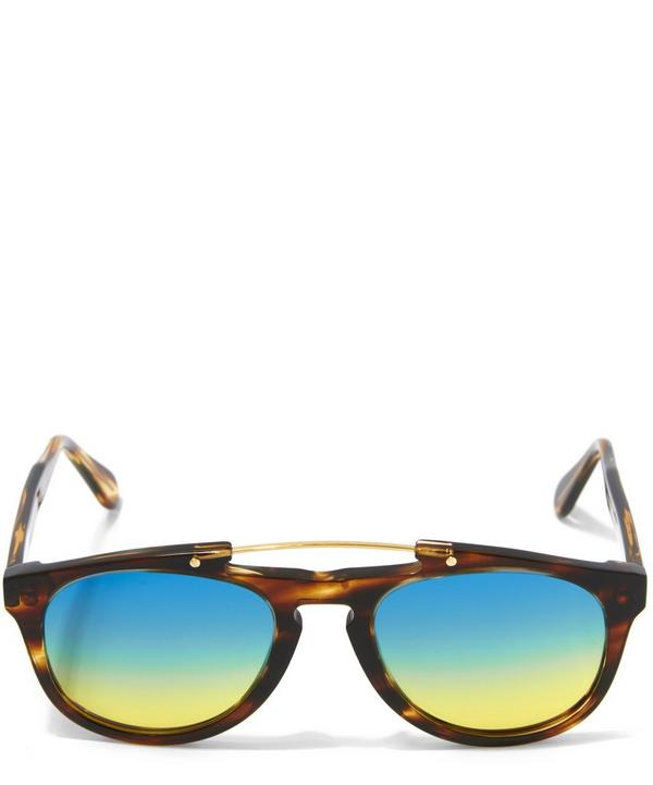 Monaco Gradient Lens Aviator Sunglasses