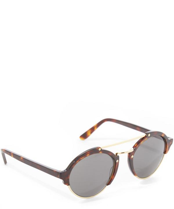 Milan II Havana Sunglasses