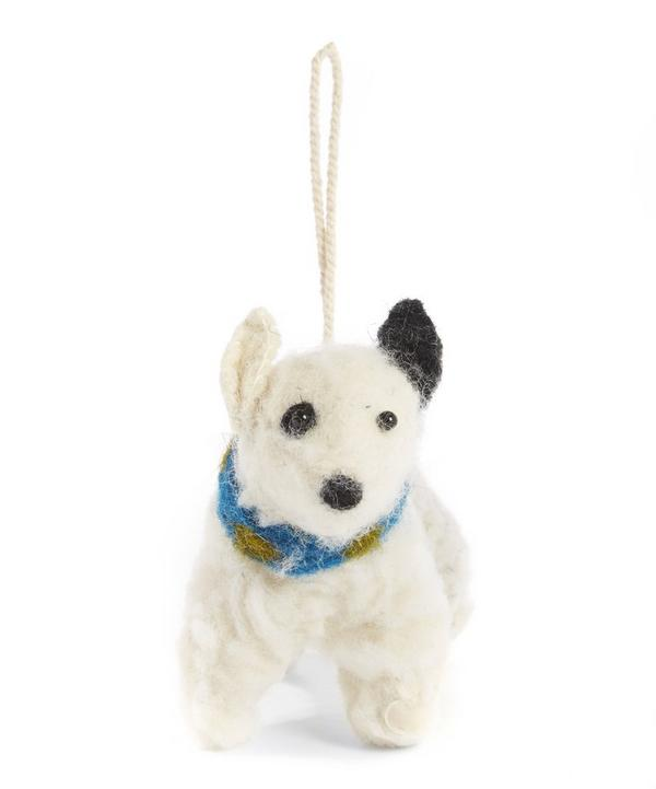Felt Patch Dog Decoration