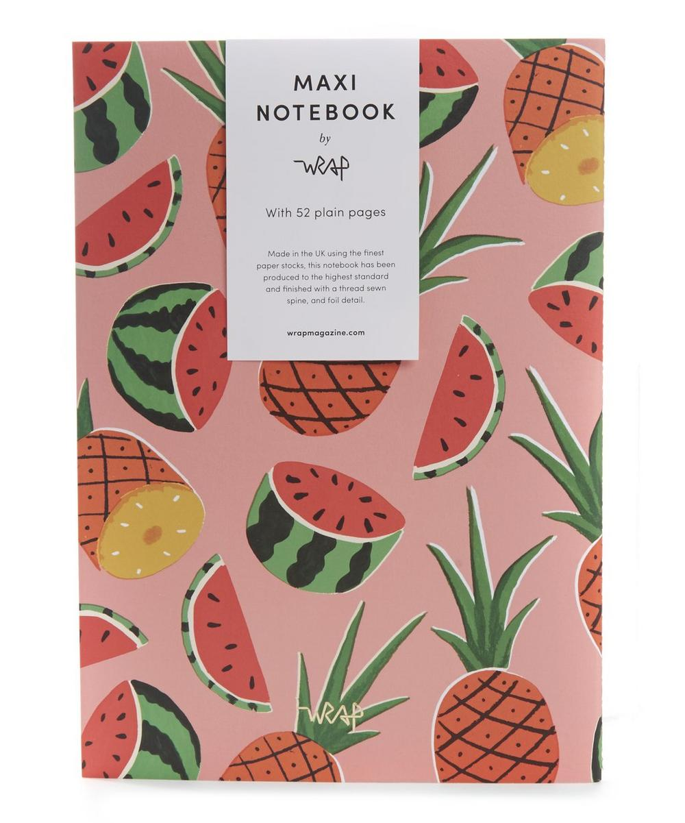 Pineapples and Watermelons Notebook