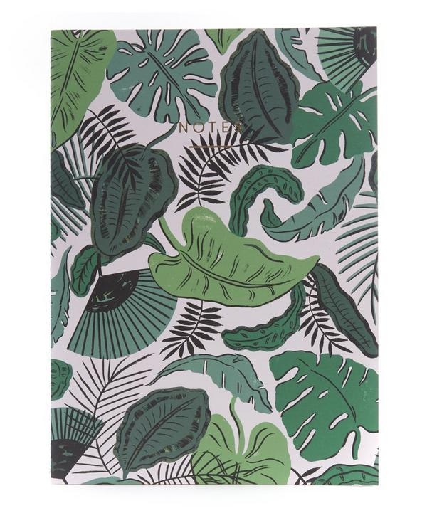 Tropical Leaves Notebook