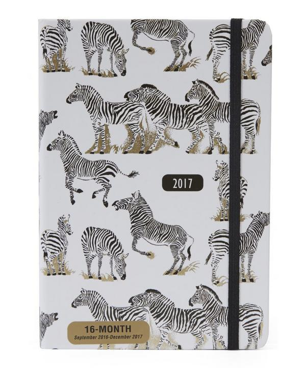 Zebras 2017 Weekly Planner