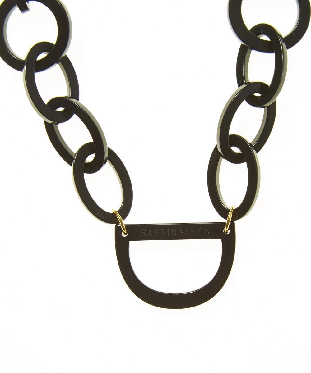 No.4 Glasses Chain Necklace