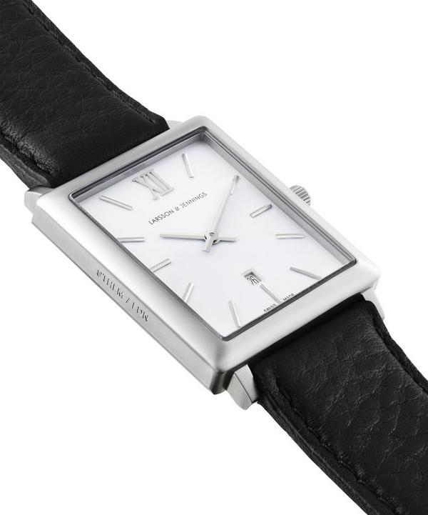 Stainless Steel Norse Rectangle Watch