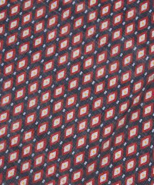 Diamonds Printed Cashmere-Blend Scarf