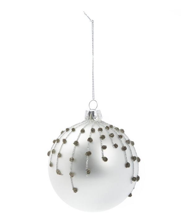 Glitter Ball Bauble