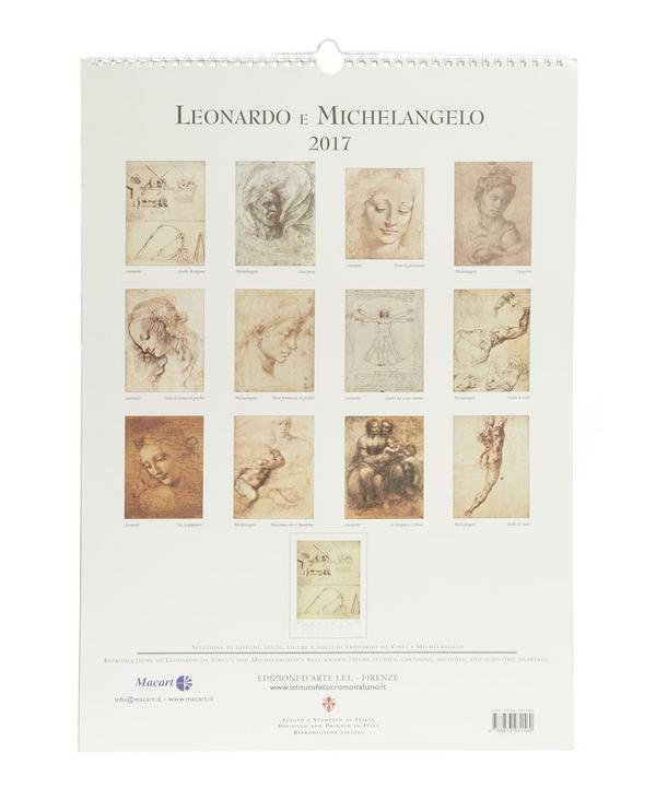 Leonardo e Michelangelo Calendar