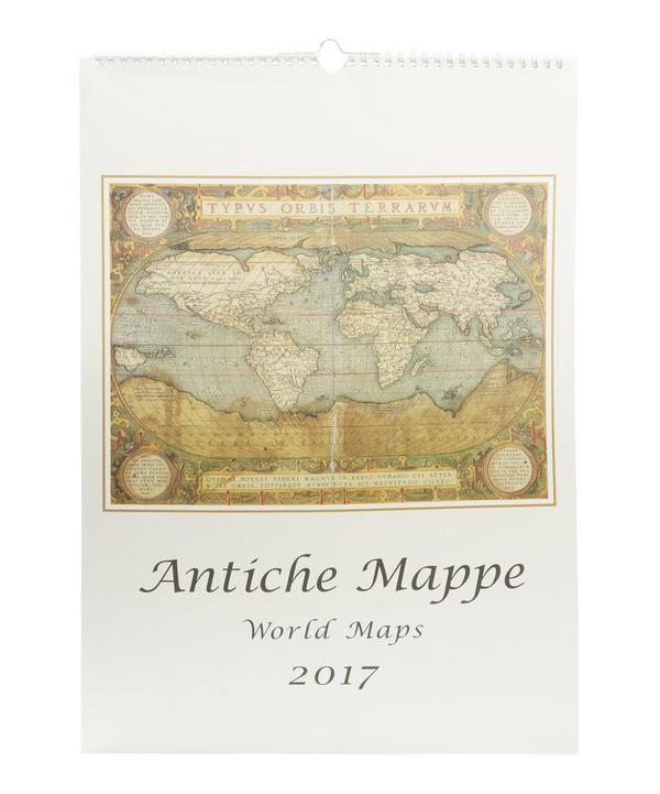 World Maps Calendar