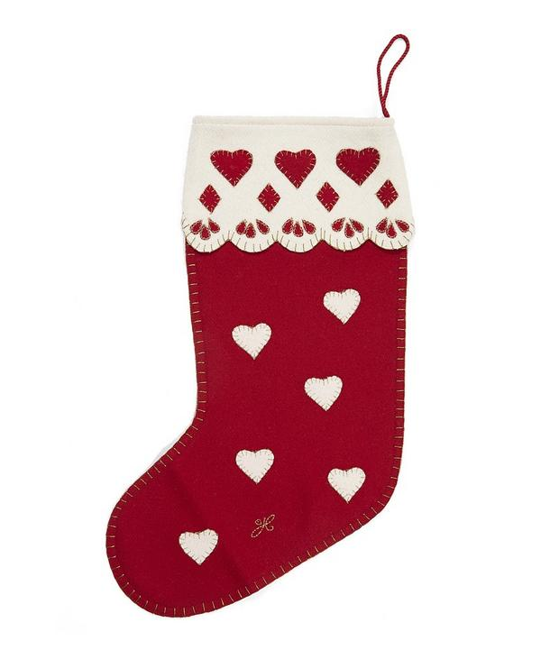 Traditional Heart Stocking