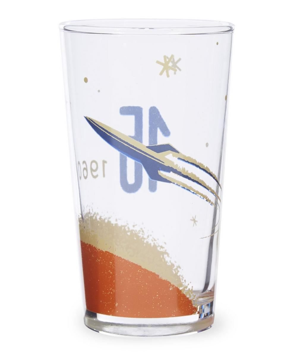 Cosmos '60 Rocket Mixer Glass