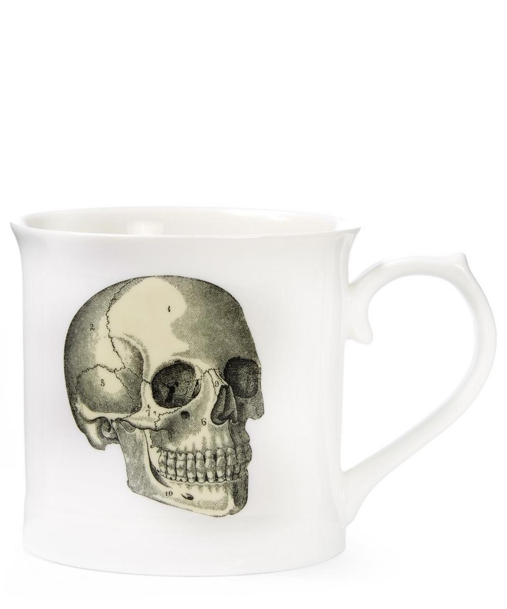 Curios Skull Mug