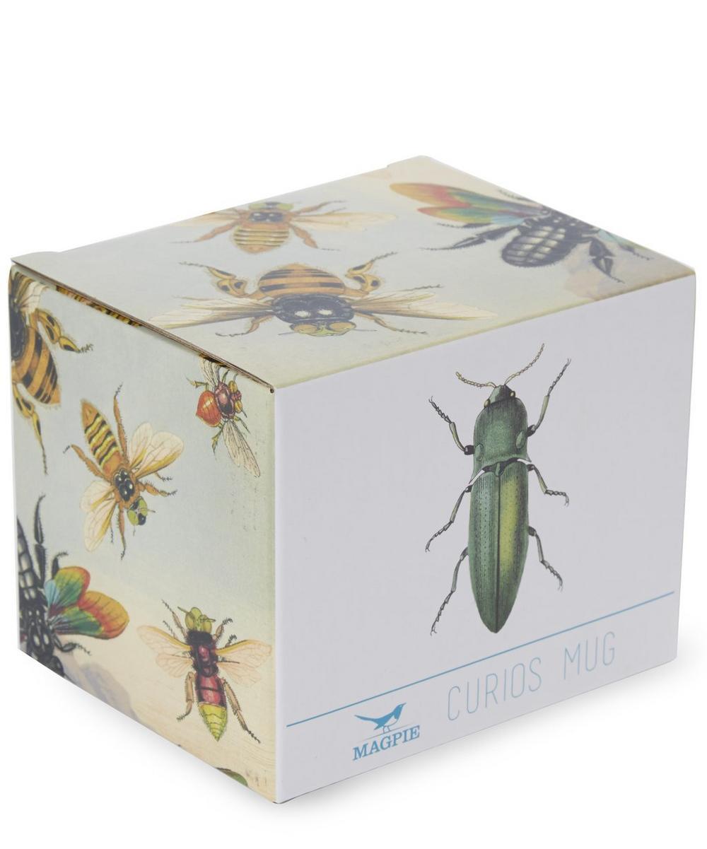 Curios Green Beetle Mug