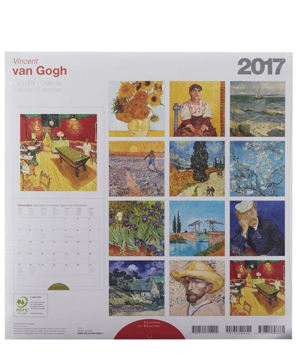 Van Gogh 2017 Calendar