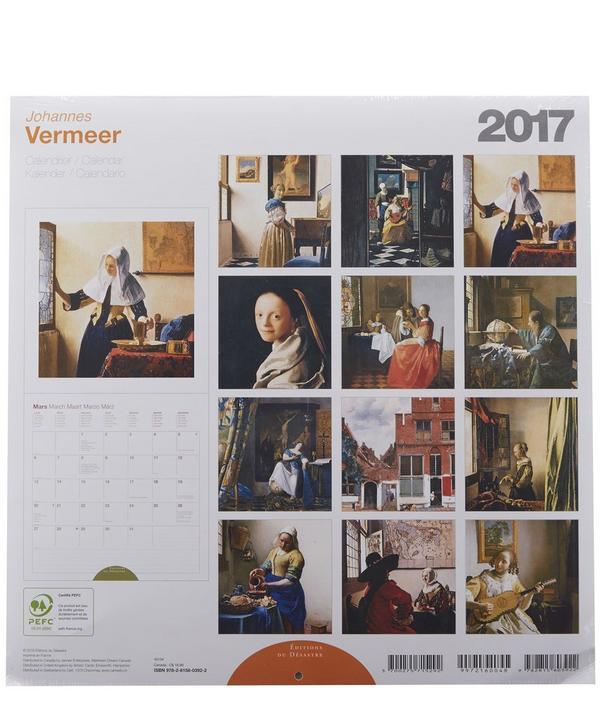 Vermeer 2017 Calendar