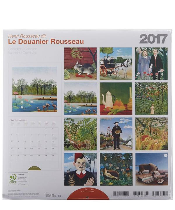 Rousseau 2017 Calendar