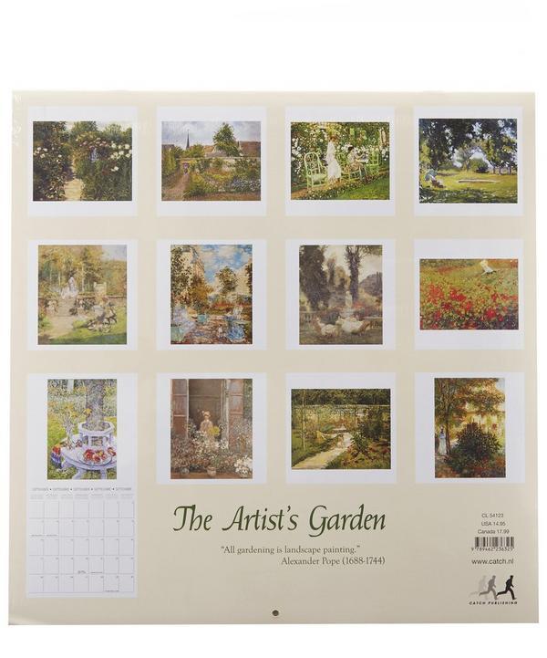 The Artist's Garden 2017 Calendar