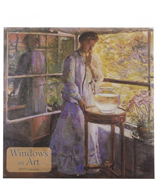 Windows in Art 2017 Calendar