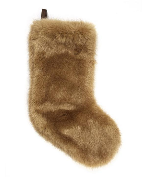 Small Faux Fur Stocking
