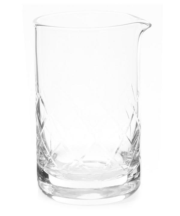 Professional Crystal Mixing Glass
