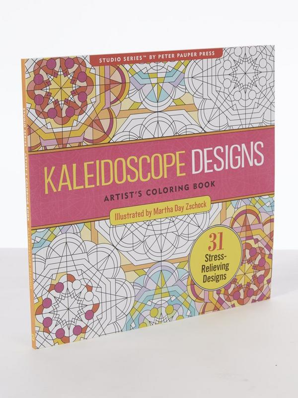 Kaleidoscope Design Adult Colouring Book