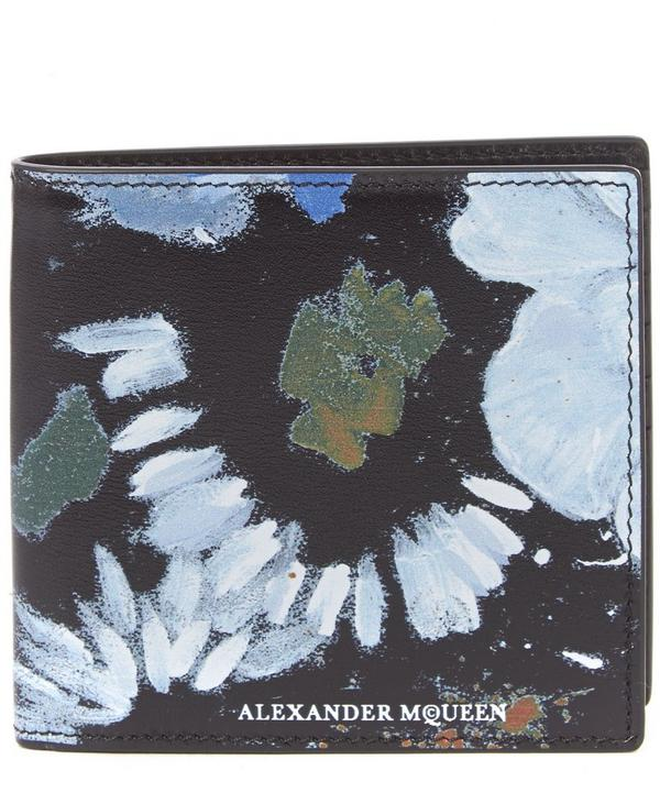 Floral Billfold Wallet