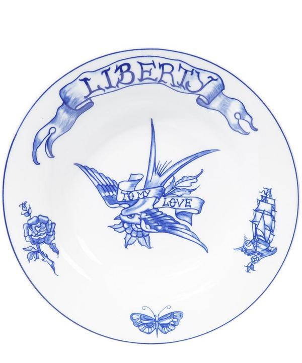 Liberty Deep Soup Plate
