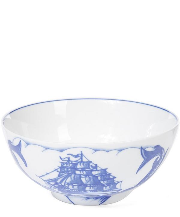 Blue Marlin Serving Bowl