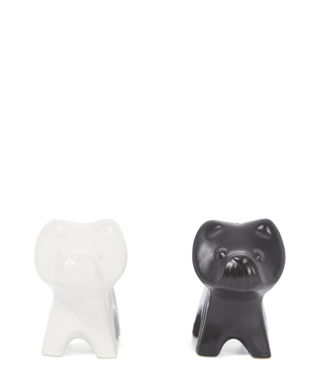 Terrier Salt and Pepper Shakers
