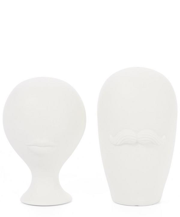 Mr and Mrs Muse Salt and Pepper