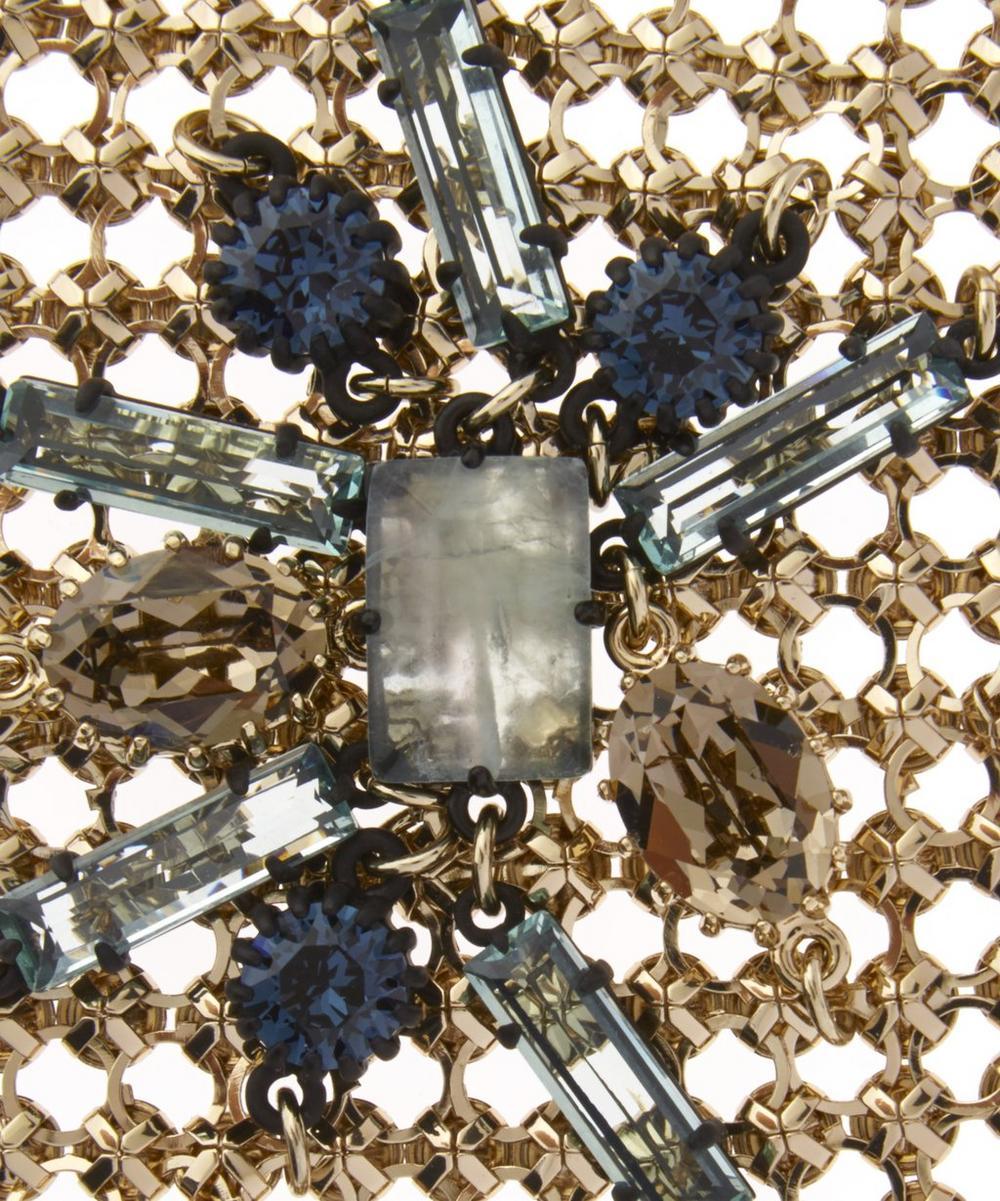 Gold-Plated Cite Mesh Chain Bracelet