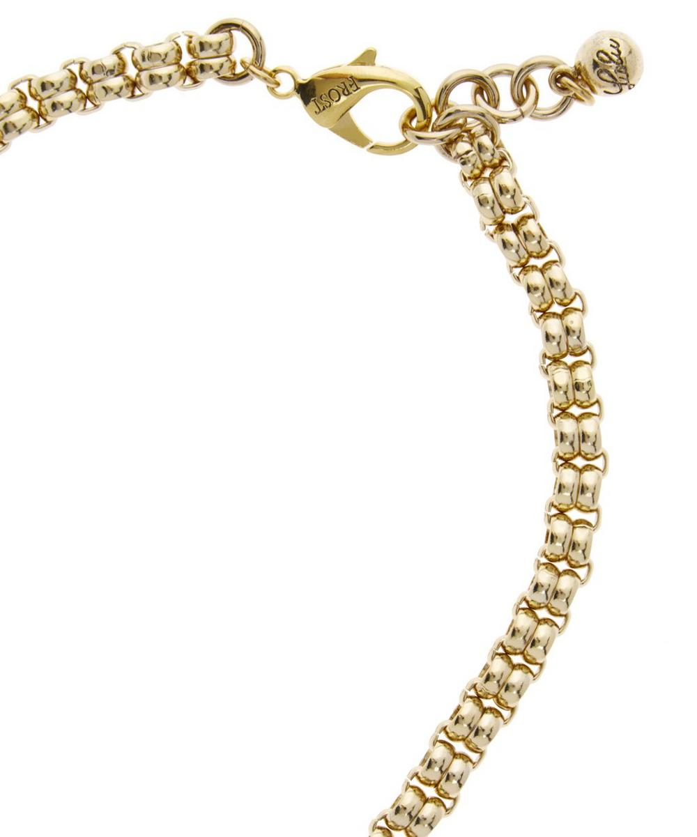 Gold-Plated Odeon Necklace