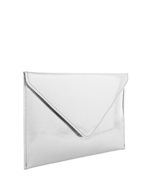 Silver-Tone Travel Envelope