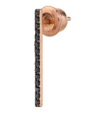 Rose Gold Stick Stud Single Earring