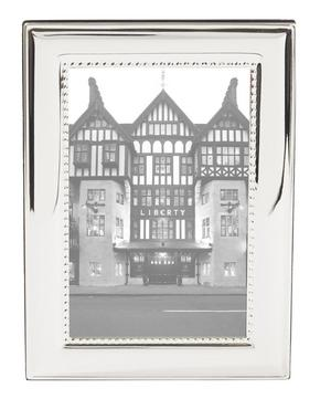 Silver-Plated Shot Frame