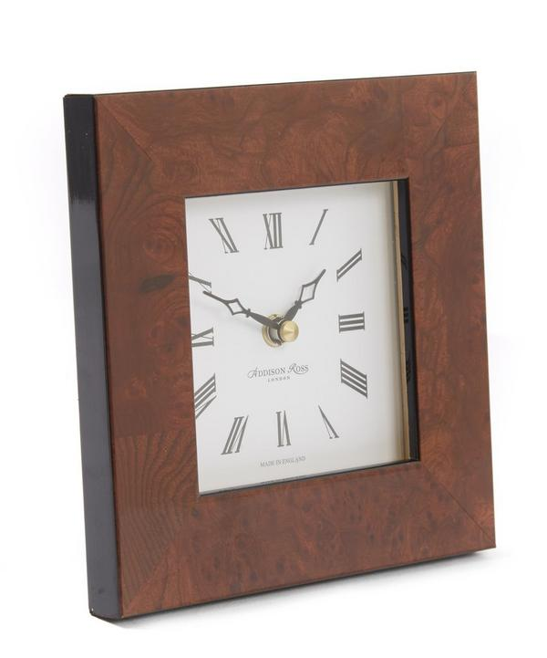 Walnut Clock