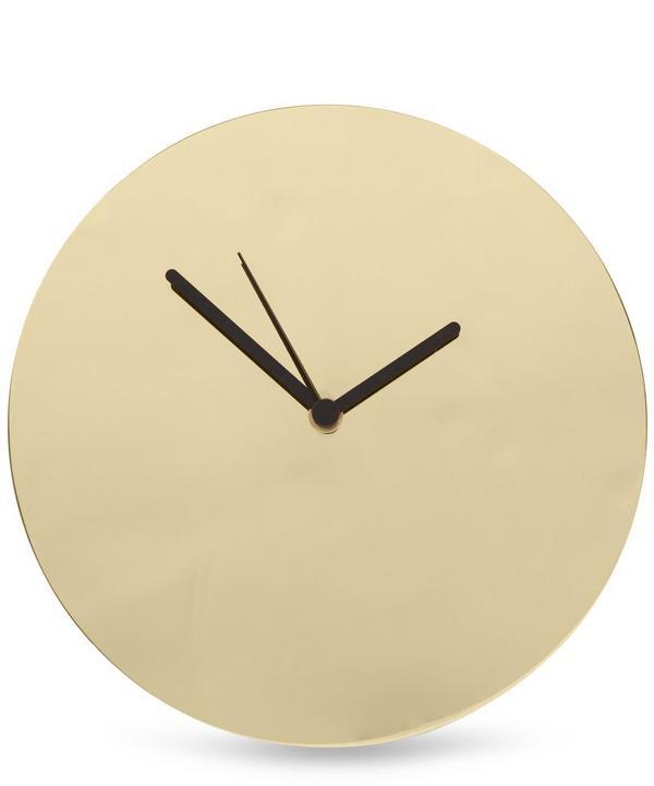 Brass Wall Clock
