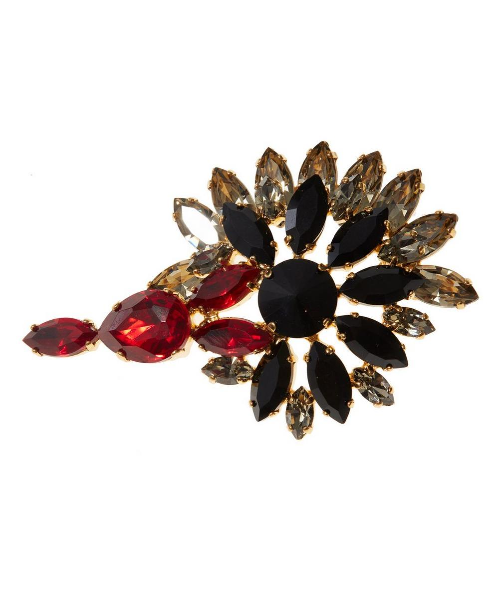 Strass Crystal Brooch