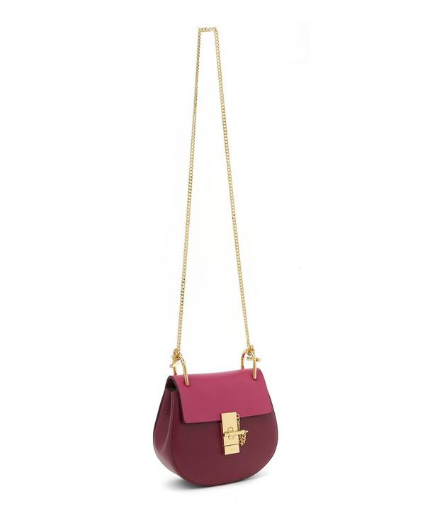 Mini Drew Bi Colour Crossbody Bag