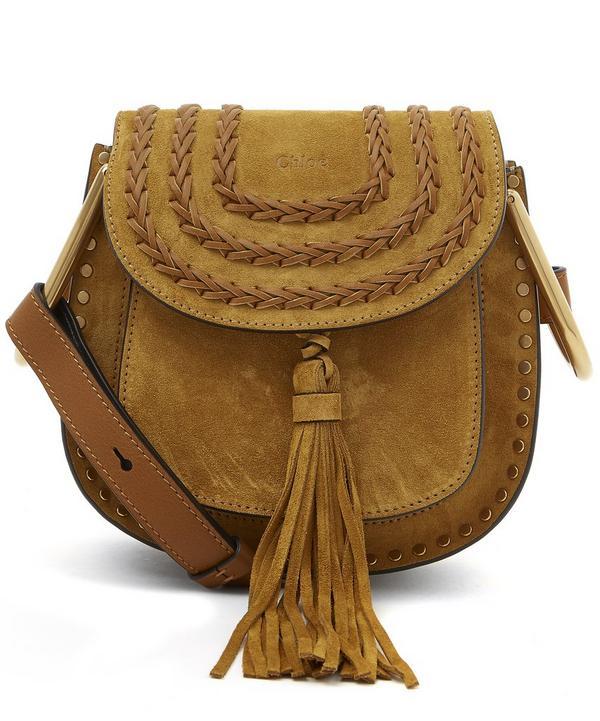 Mini Hudson Suede Shoulder Bag