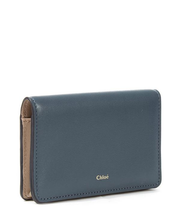 Baylee Smooth Calfskin Leather Cardholder
