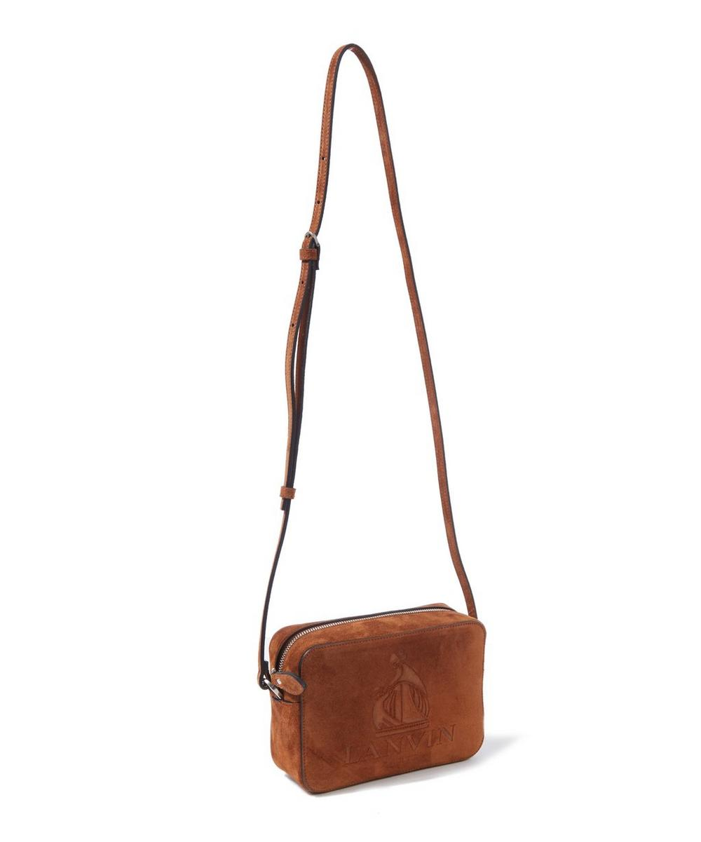 Mini So Lanvin Suede Cross Body Bag