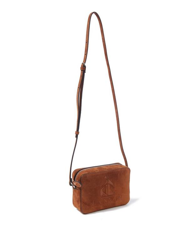 Mini Nomad Suede Cross Body Bag