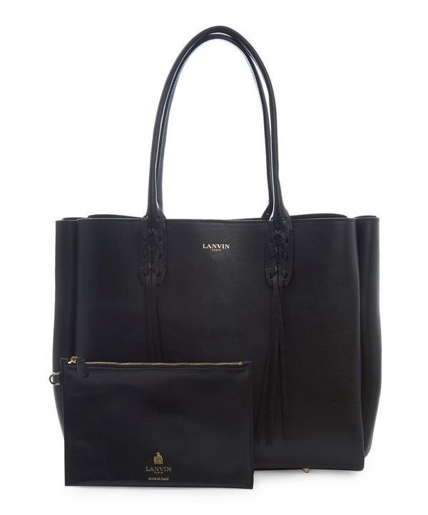Small Smooth Calfskin Shopper Bag